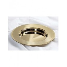 Brass Communion Bread Plate by Broadman & Holman.