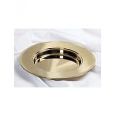 Brass Communion Bread Plate by Broadman & Holman.