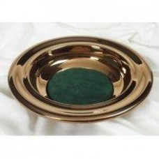 Bronze Offering Plate Green by B&H Publishing Group