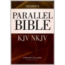KJV/NKJV Parallel Bible Brown Hardback