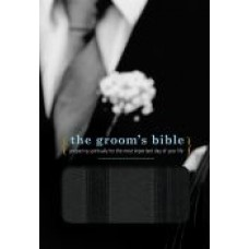 NCV The Groom's Bible Black Leathersoft