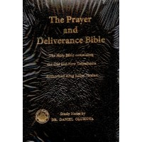Prayer and Deliverance KJV Bible Compact Edition Leather Bound, By Dr Daniel Olukoya
