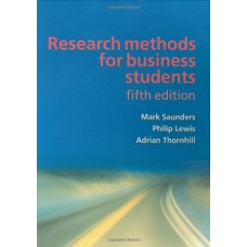 Research Methods for Business Students [Paperback] Mark Saunders